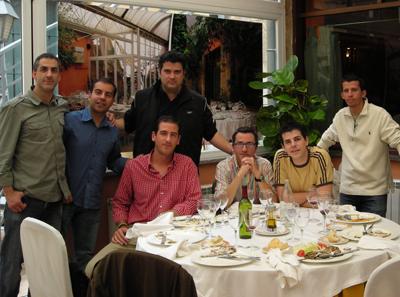 Mesa para 8 en Salamanca con GPM